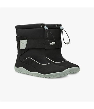Vivobarefoot Vivo Yeti K - Black/Aqua Grey