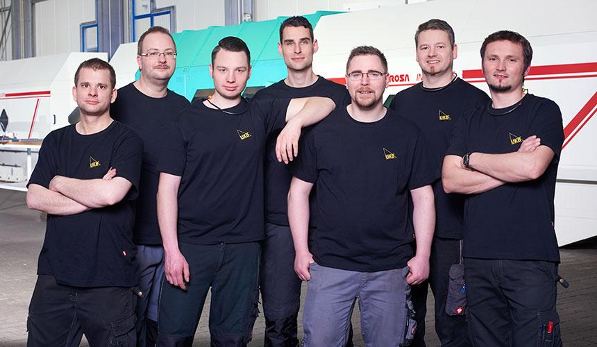 Schleiferei team