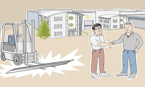 UKB-Reparatie- en naslijpservice