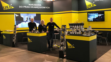 First day at STOM Blech exhibition in Kielce (Poland)