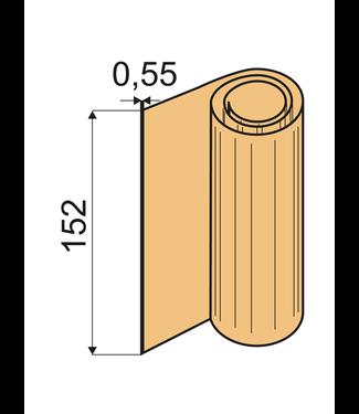 Kantfolies Shore 60 A, VU 0,55 x 152