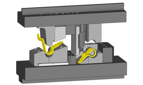 3D-models Two-station tools