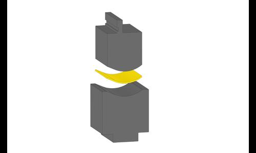 Инструмент для формовки радиуса