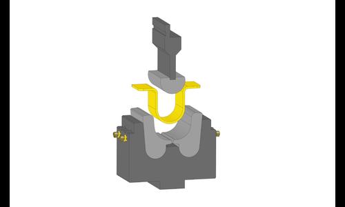 U-образные гибочные инструменты с подвижными вставками
