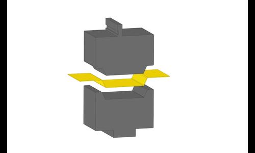 Trapezoidal bending tools