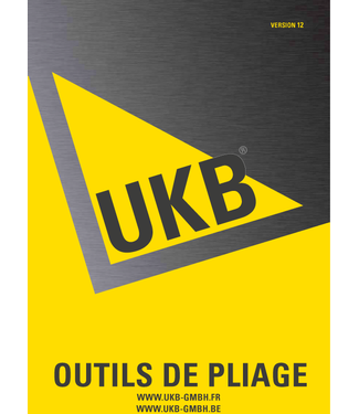 UKB-Catalogue  Outils de pliage - FR