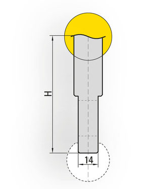 Autres supports pour outils à rayonner