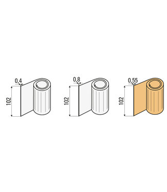 VU Sample set protective film
