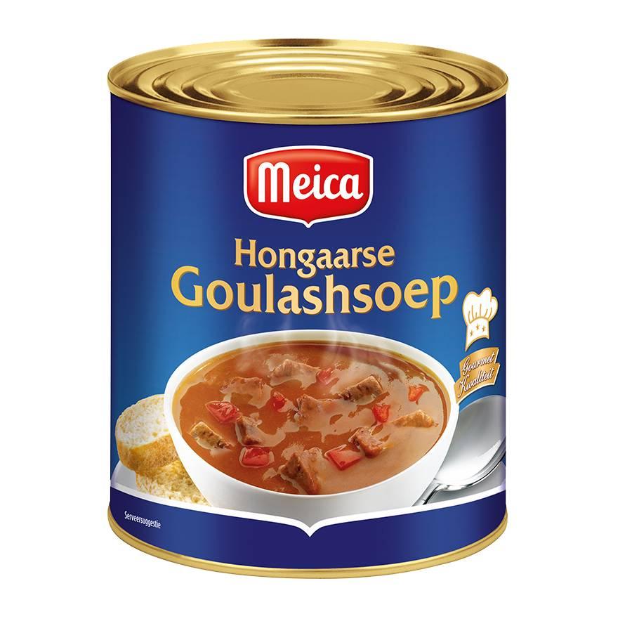 Hongaarse Goulashsoep - 3l x 4 - Tray
