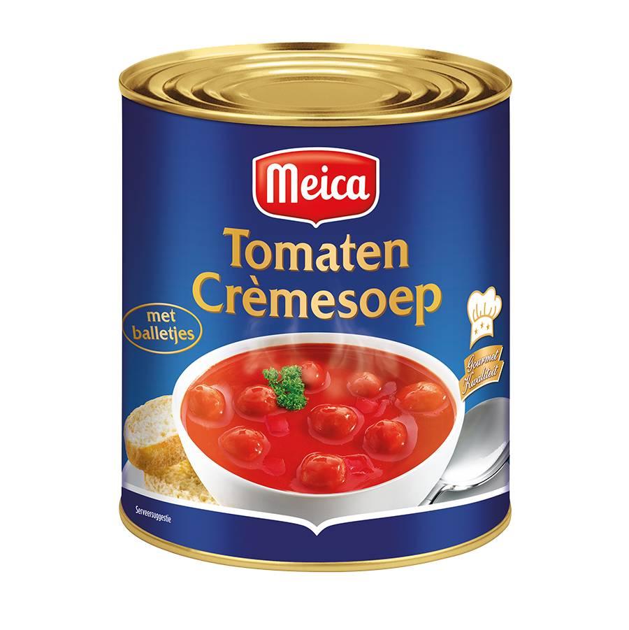 Tomaten Cremesoep - 3l x 4 - Tray