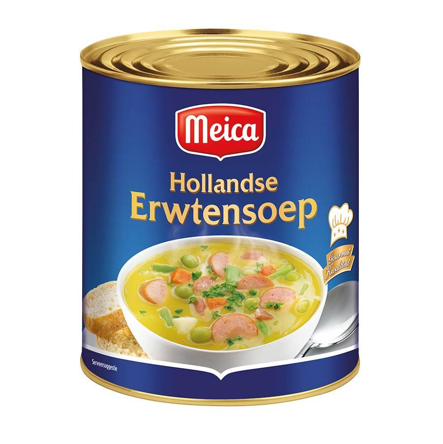 Hollandse Erwtensoep - 3l x 4 - Tray