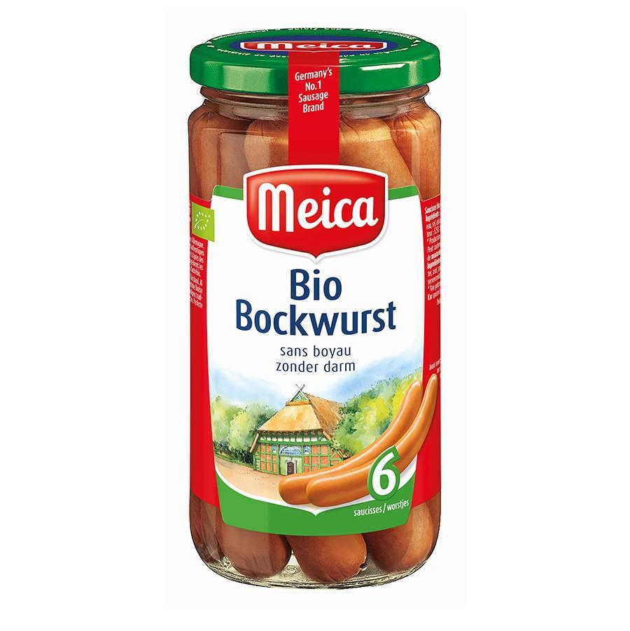 Bio Bockworst - 180g x 12 - Tray
