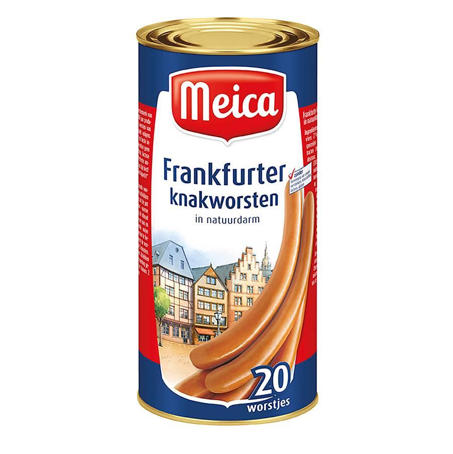 Frankfurther 20 st - 900 g x 6 - Tray