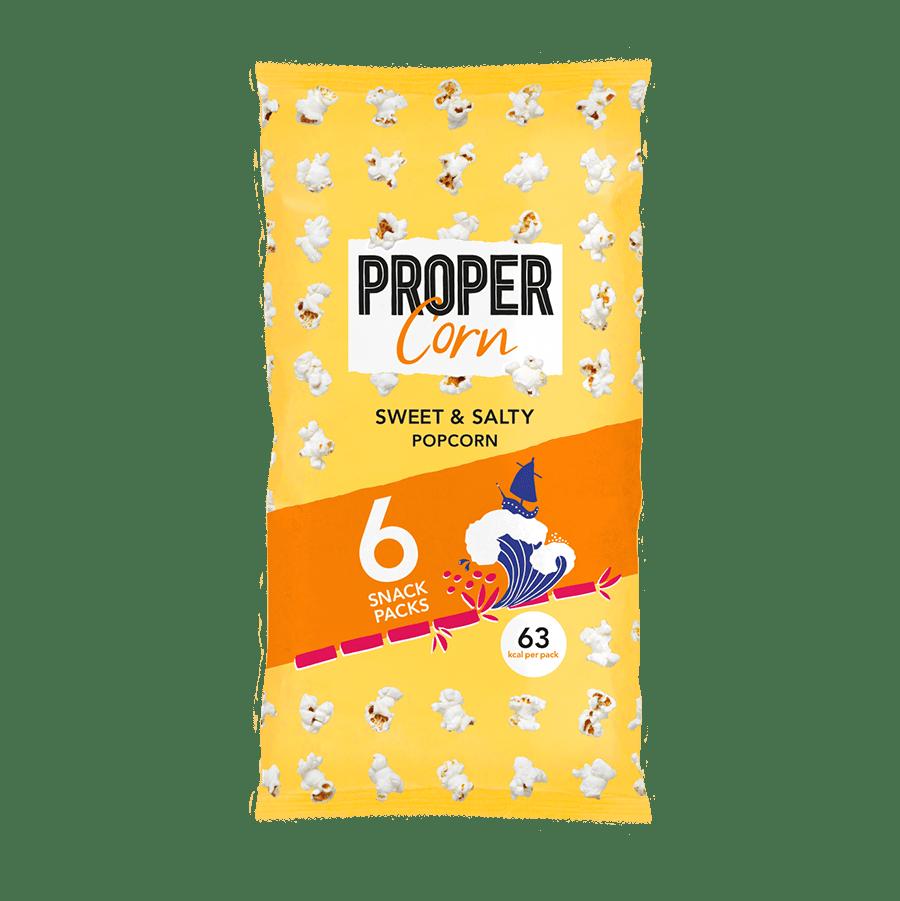 Sweet & Salty - 6x14g x 6 - Multipack - Zak