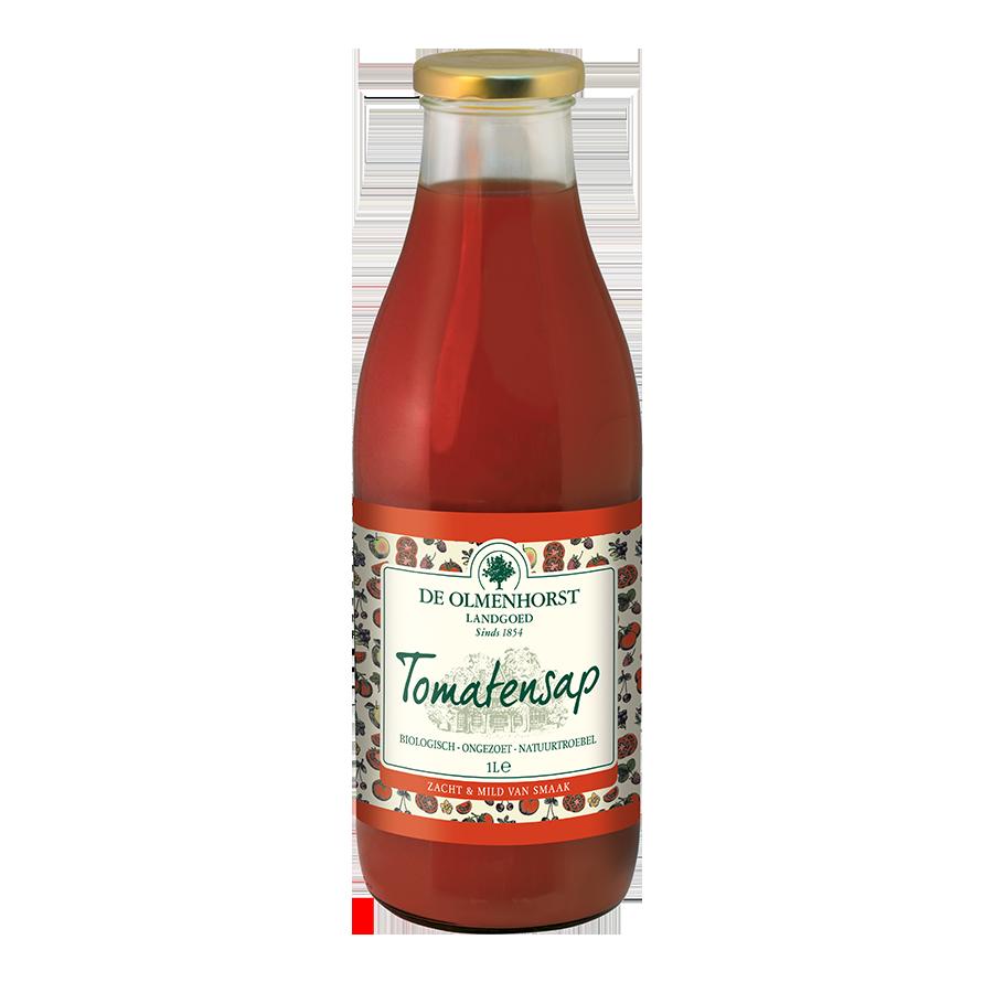 Tomatensap - 1l x 6 - Glas