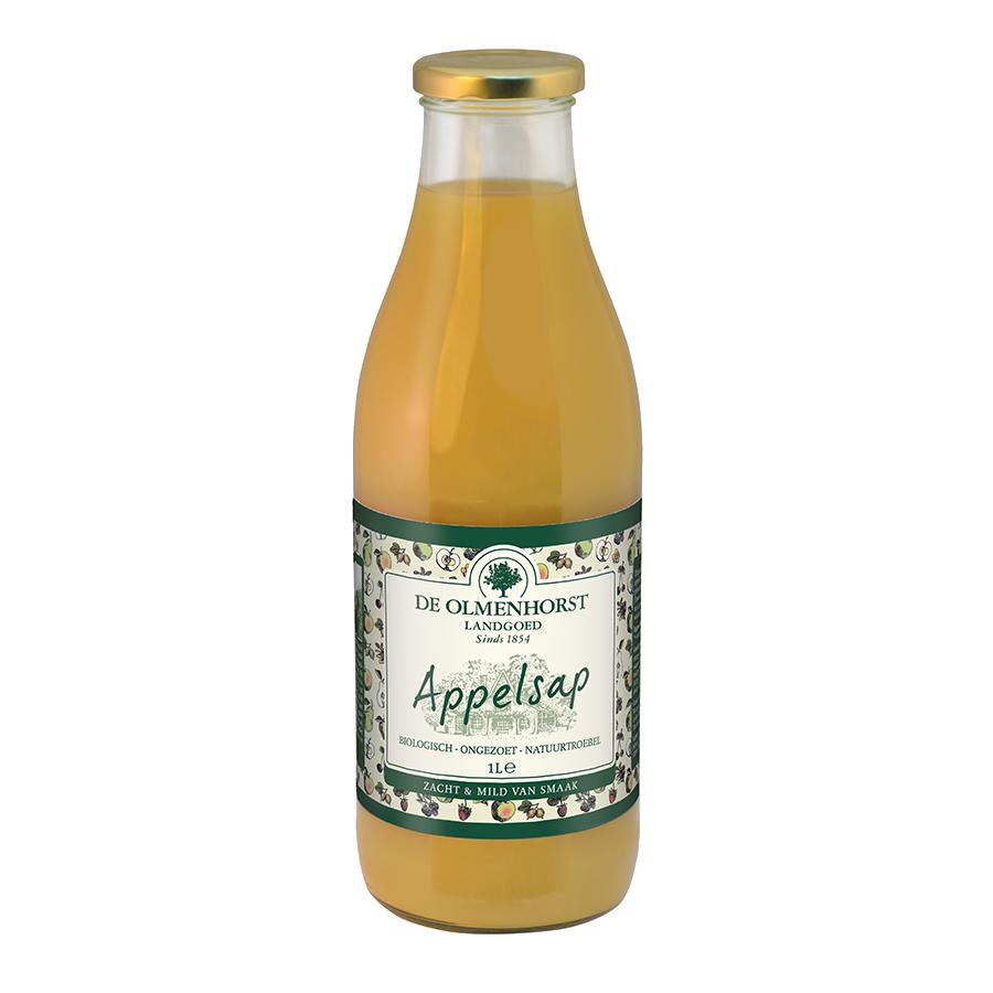 Appelsap - 1l x 6 - Glas