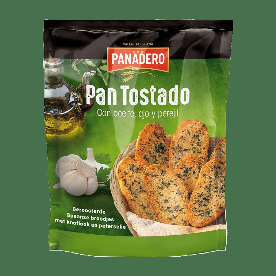 Pan Tostado Ajo y Perejil - 160g x 10 - Zak