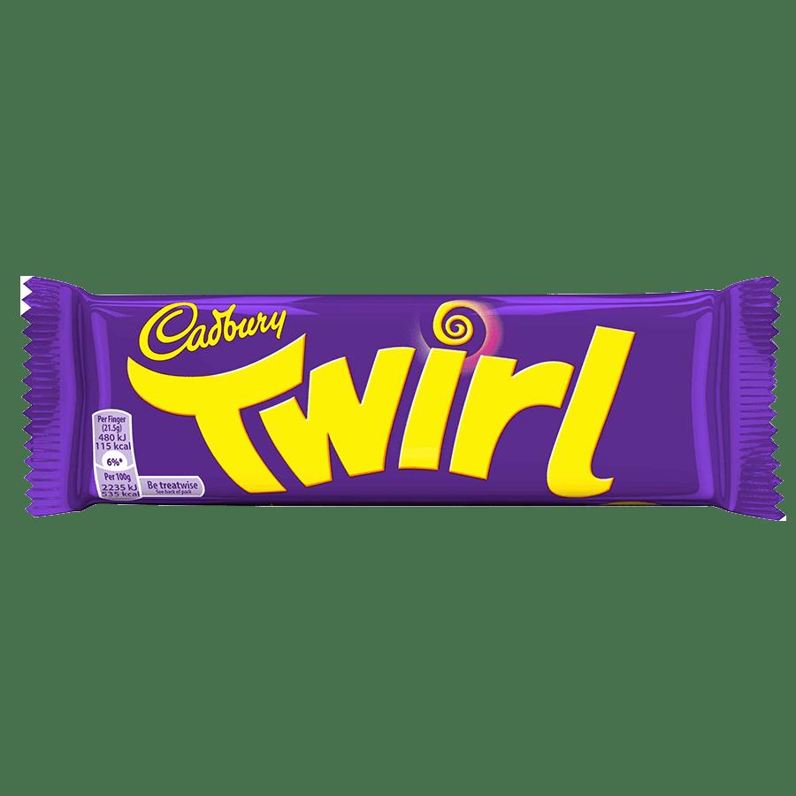 Twirl reep - 43g x 48 - Wikkel