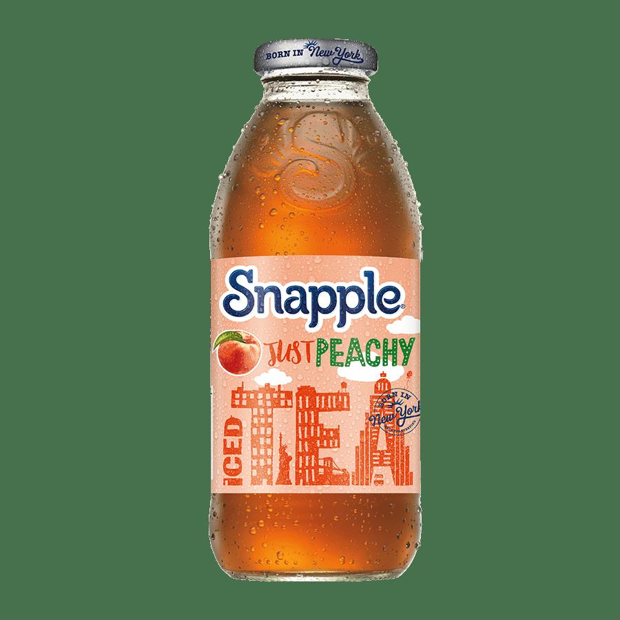 Peach iced tea - 473ml x 12 - Glas