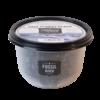 Zwarte zoutvlokken - 6 x 150g - Doos