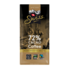 Coffee (72% cacao) - 100g x 12 - Tablet