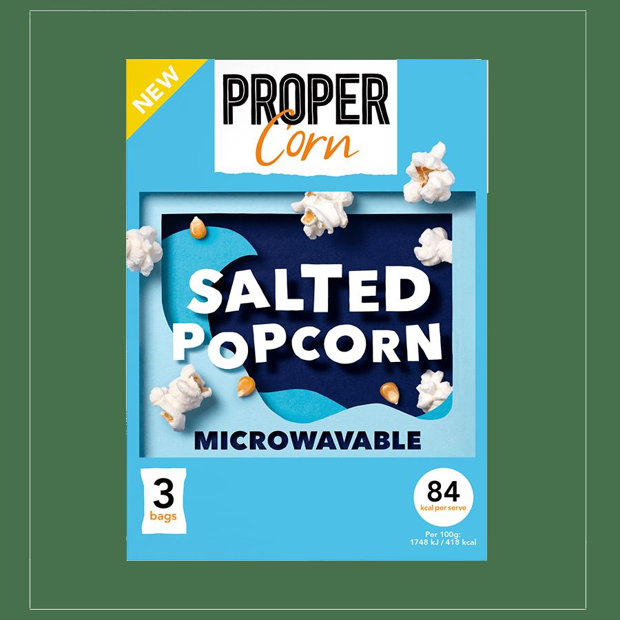 Microwave Salted - 70g  x 3 - Doos