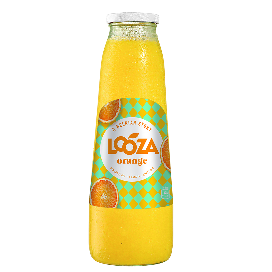 Orange - 1L x 6 - Glas