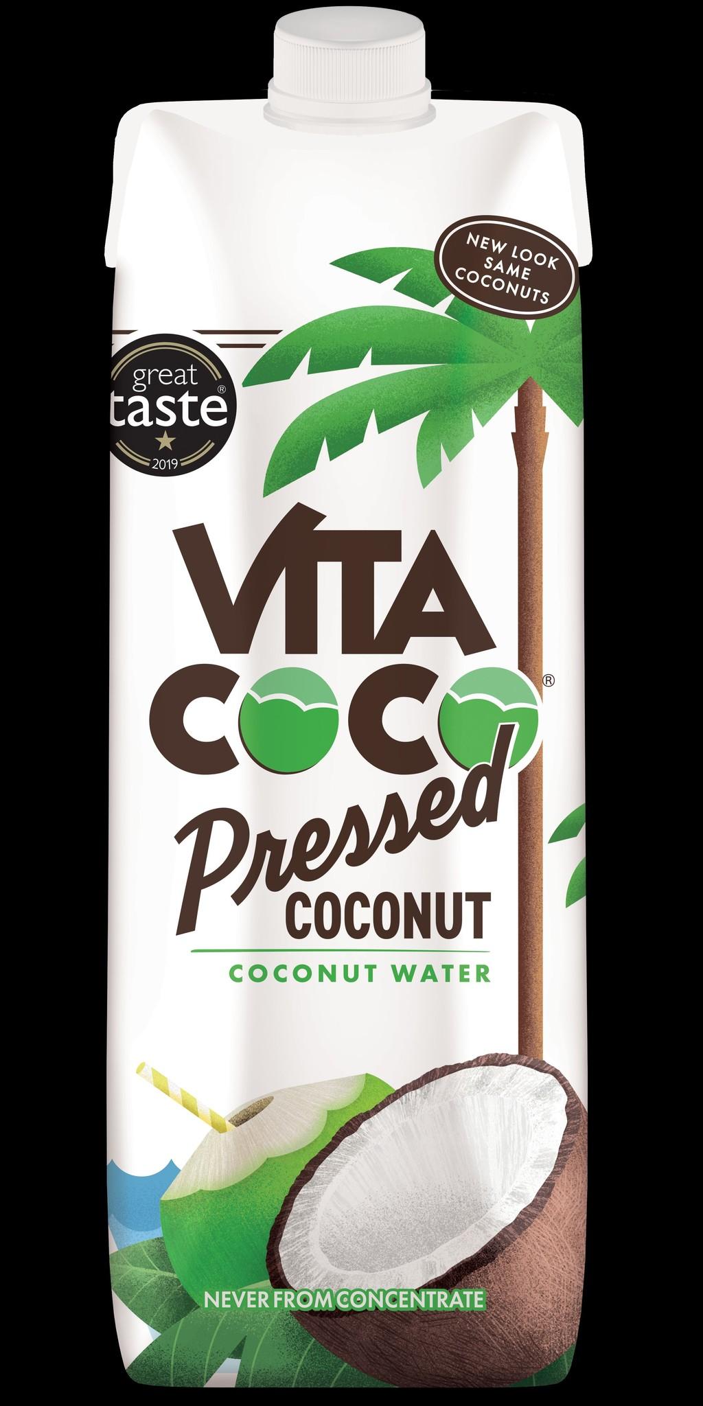 Coconut water pressed 1L x 12 tetrapak