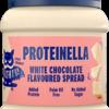 Proteinella White Chocolate, smeerbeleg, potje 200g x 12