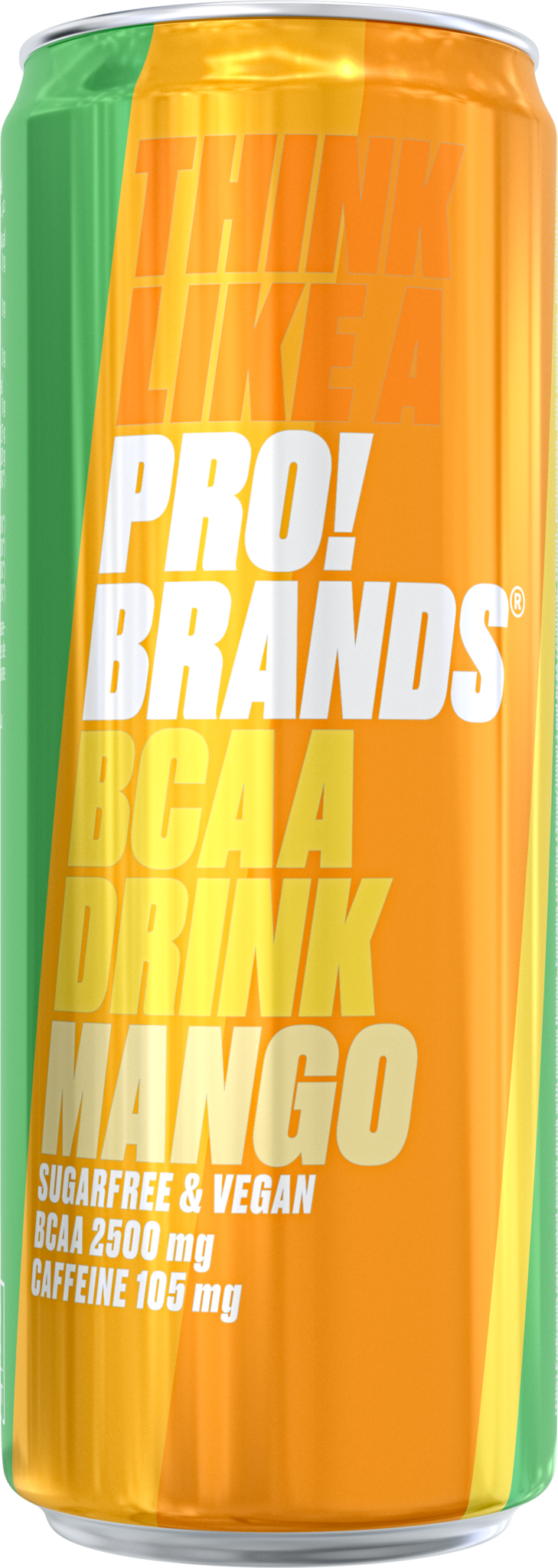 Energiedrank Mango, blik 330ml x 24