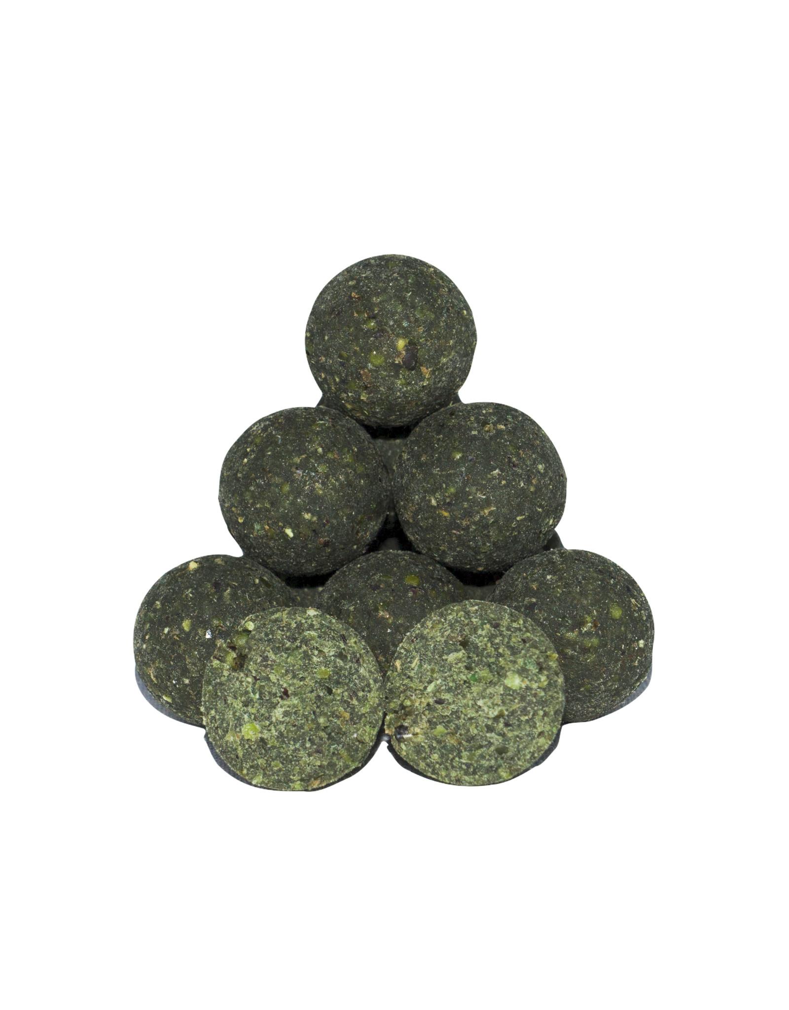 Baitworld Baitworld Green Zing Boilies 20kg
