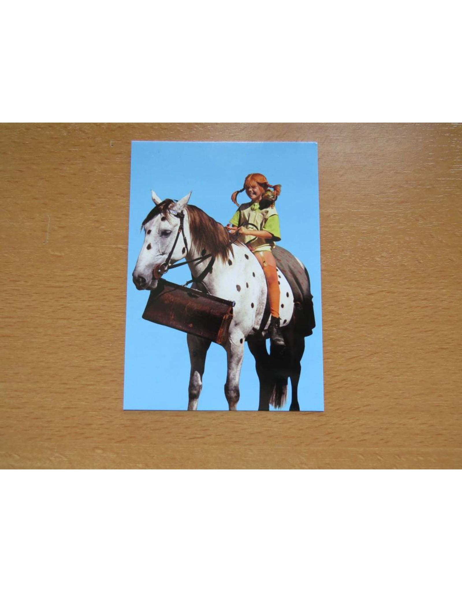 Pippi Langkous Pippi Longstocking card - Old Man