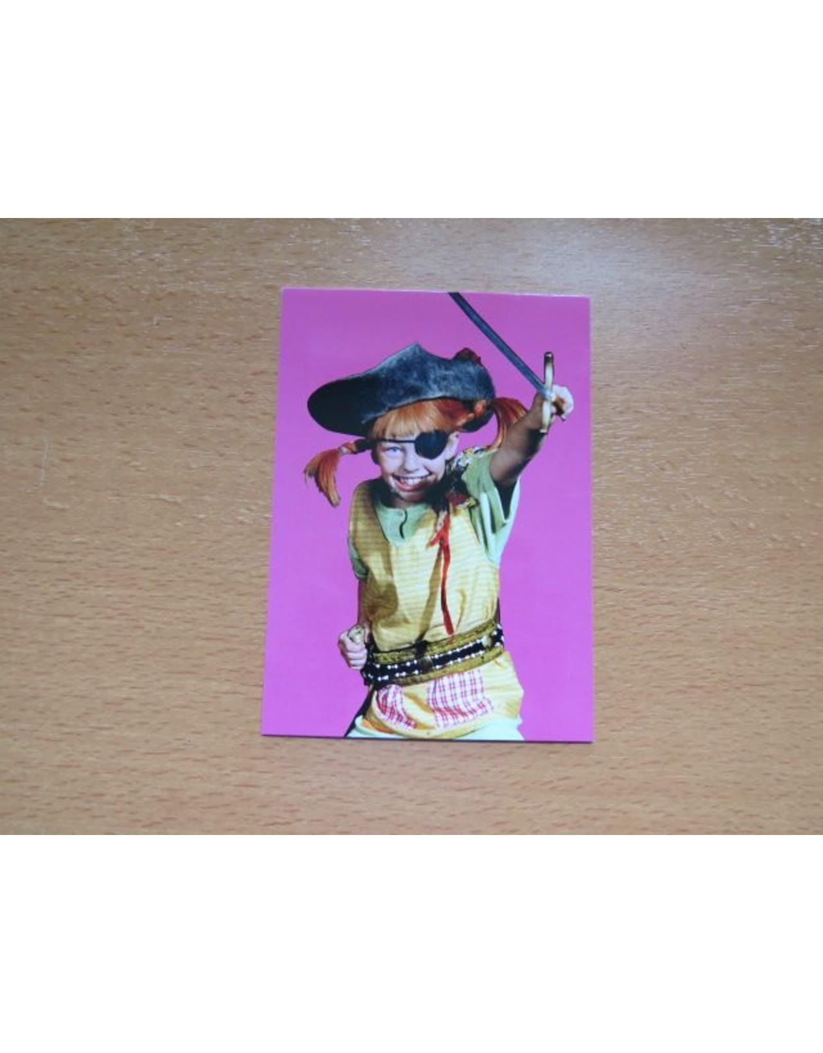Pippi Langkous Pippi Longstocking card - Attack!
