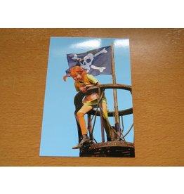 Pippi Langkous Pippi Longstocking card - Pirate