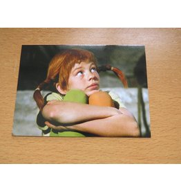 Pippi Langkous Pippi Longstocking card - Thinking