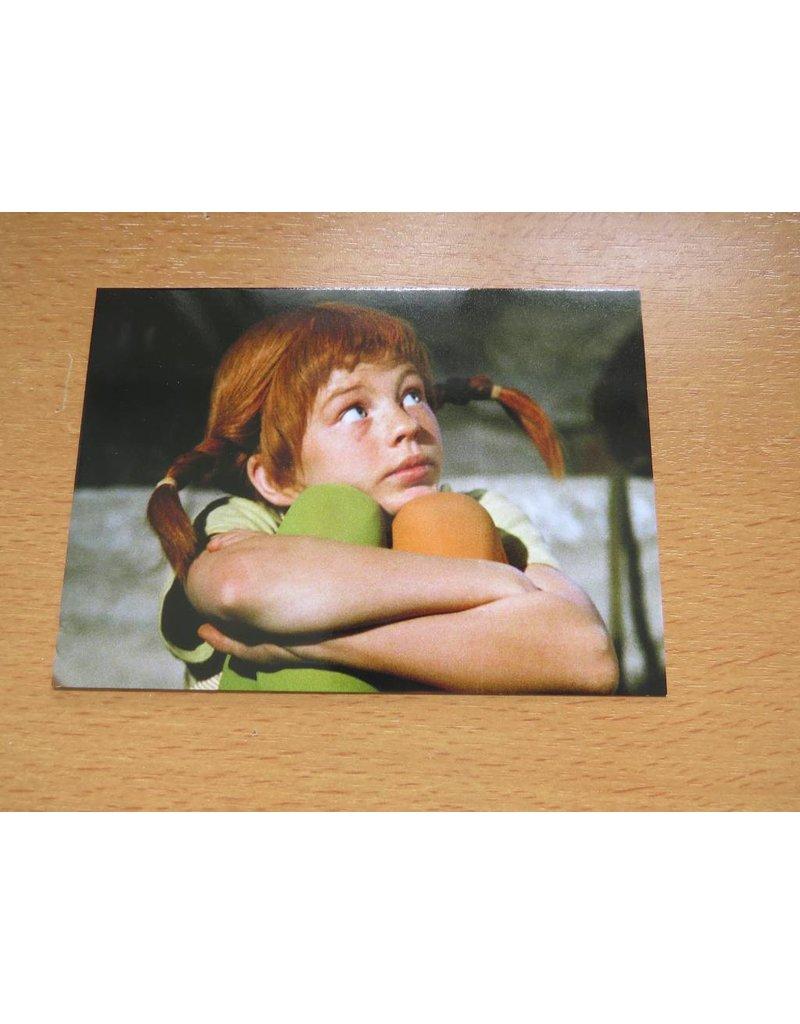 Pippi Langkous Pippi Longstocking Card Thinking
