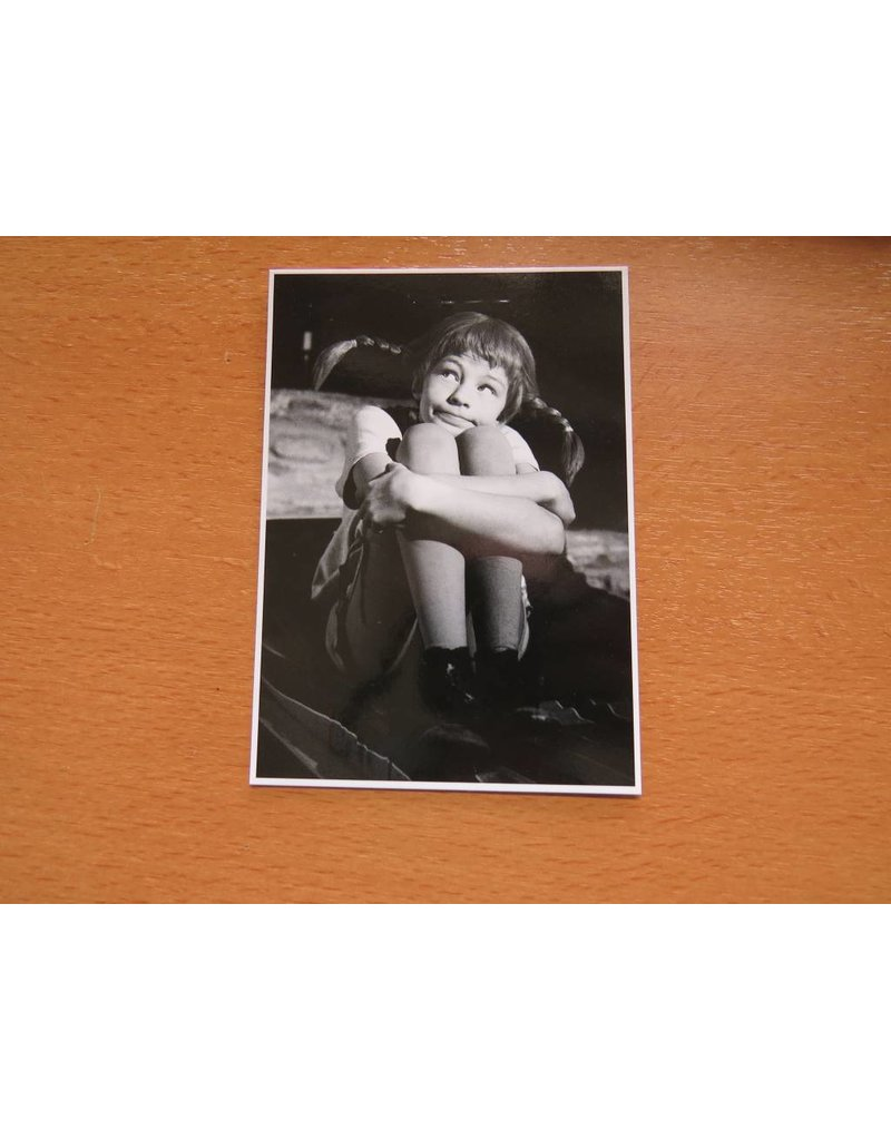 Pippi Langkous Pippi Longstocking card - Thinking