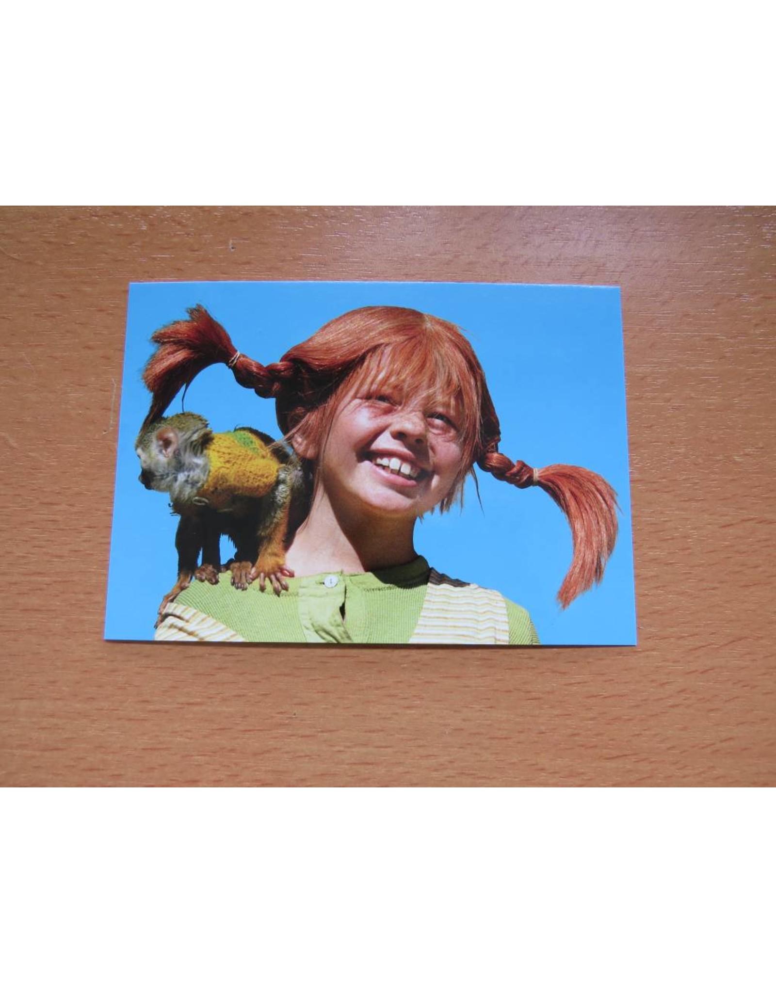 Pippi Langkous Pippi Longstocking card - Mister Nilsson