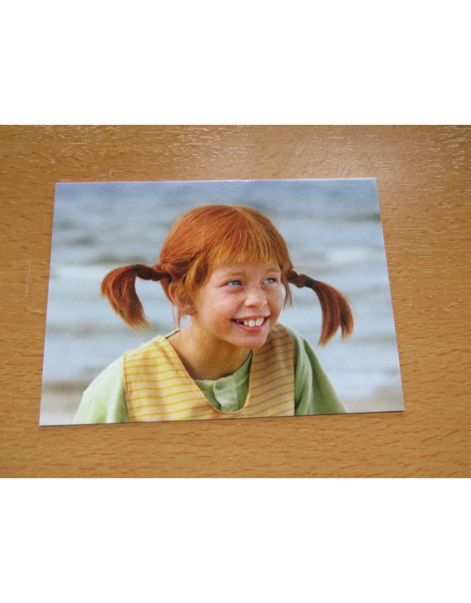 Pippi Langkous Pippi Longstocking card - Laughing
