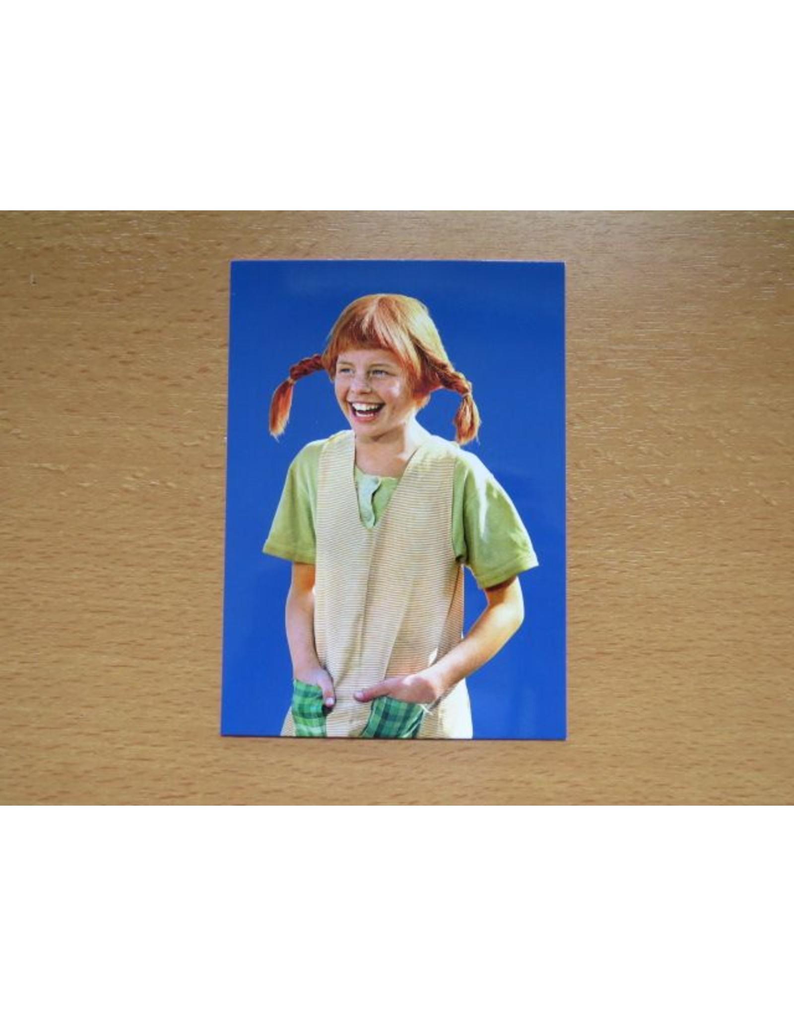 Pippi Langkous Pippi Langkous kaart - Handen in zak