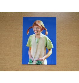 Pippi Langkous Pippi Longstocking card - Hands in the pocket