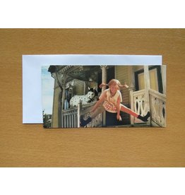 Pippi Langkous Pippi Longstocking card - Jump
