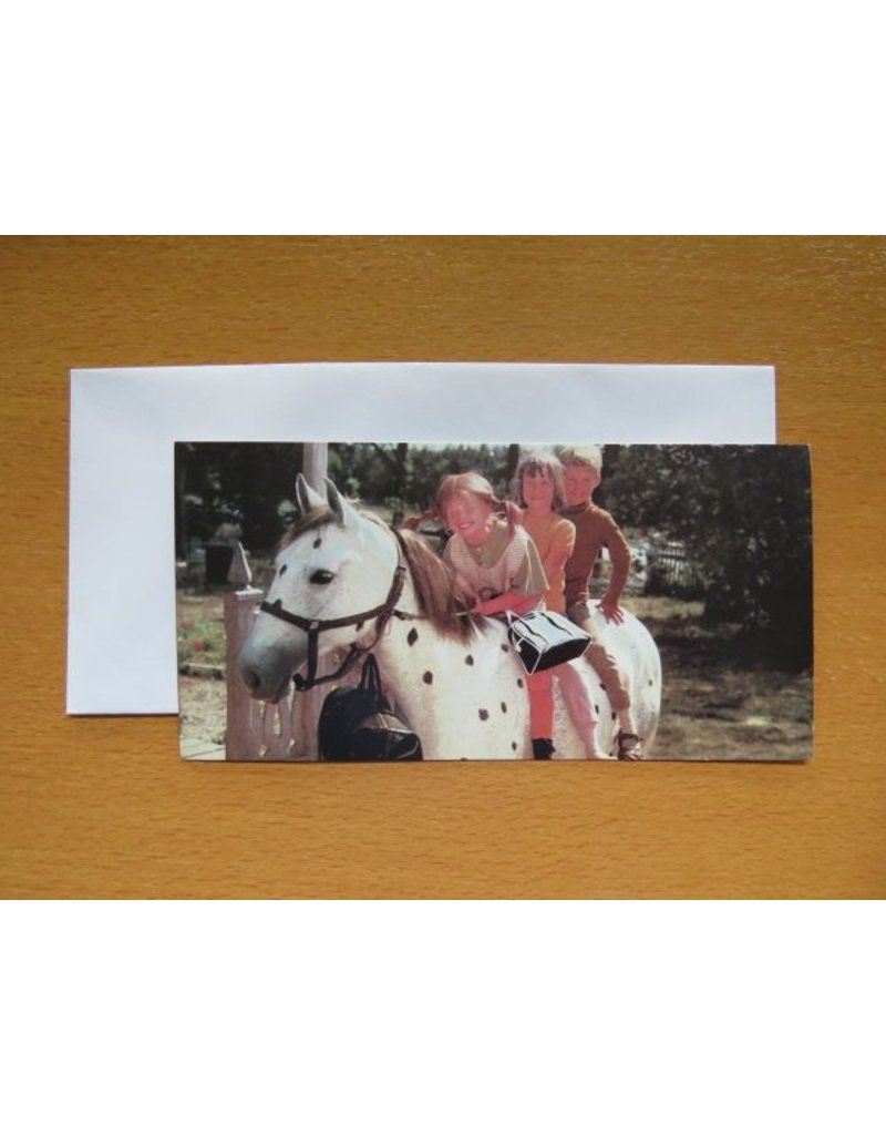 Pippi Langkous Pippi Langkous kaart - Samen op Witje