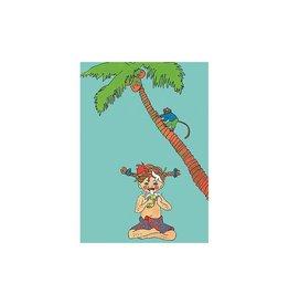 Pippi Langkous Pippi Langkous card - Taka-Tuka
