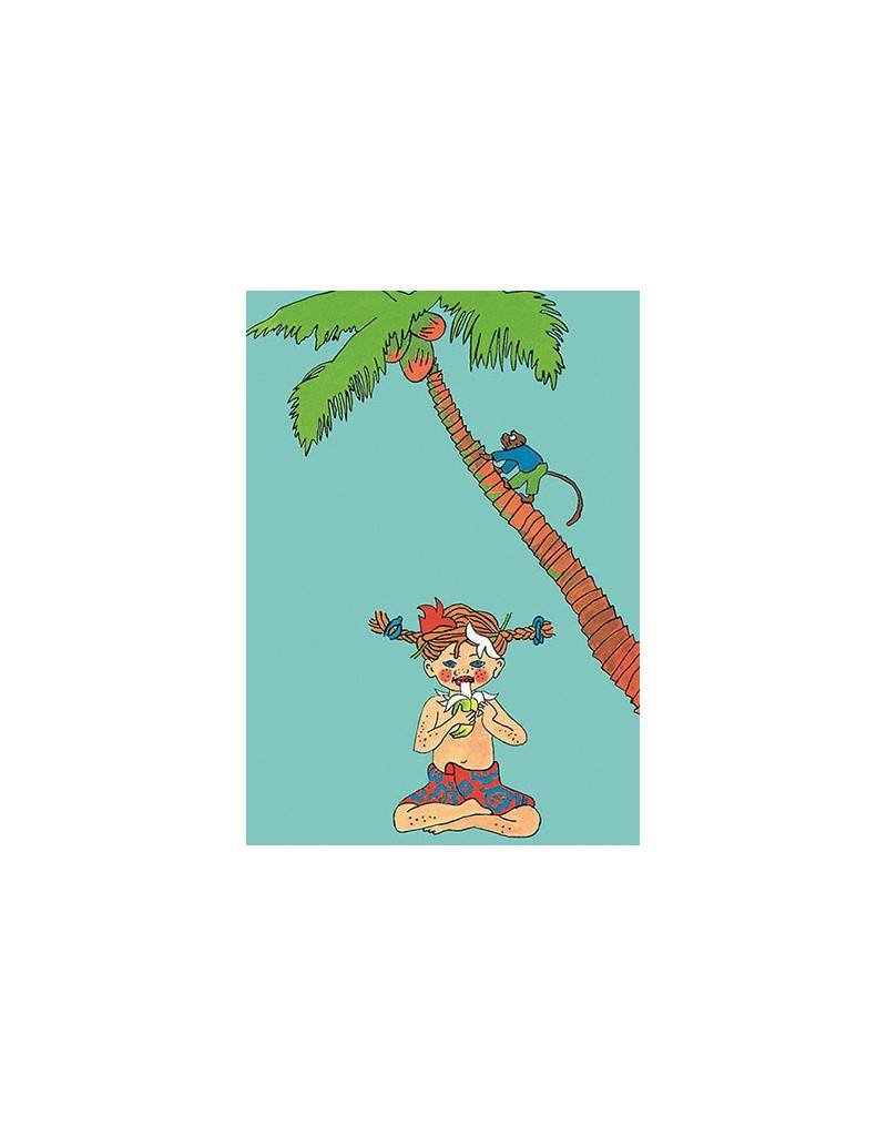 Pippi Langkous Pippi Longstocking card - Taka-Tuka