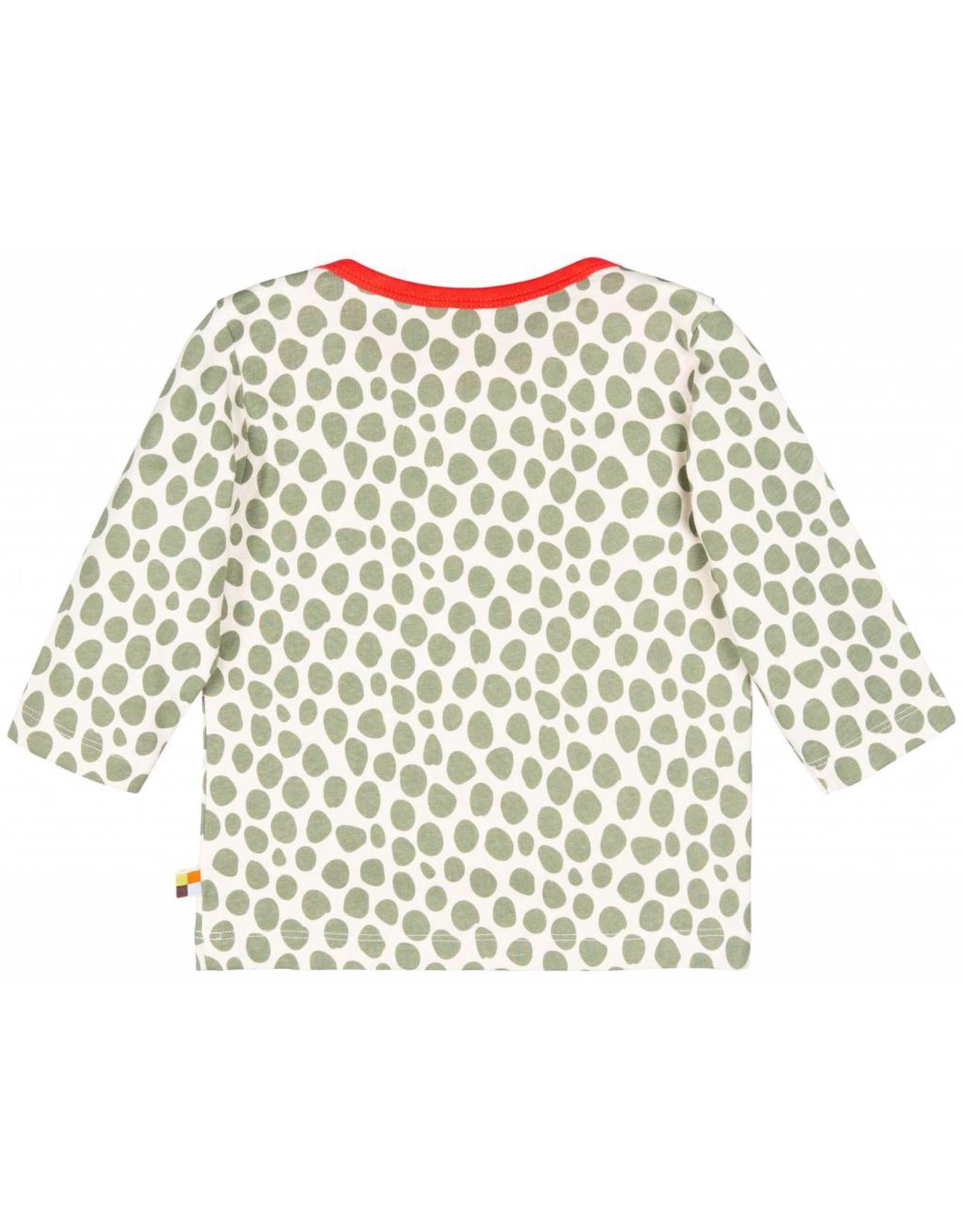 loud+proud Kindershirt - luipaard spots