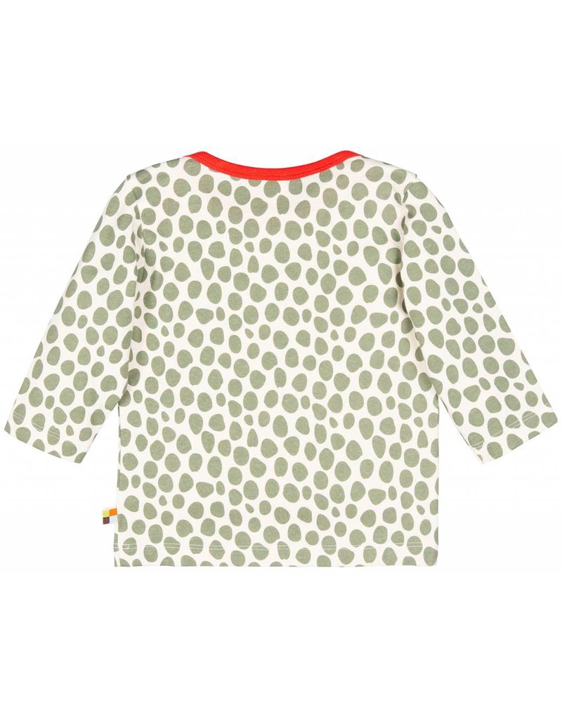 loud+proud Kindershirt - luipaard spots