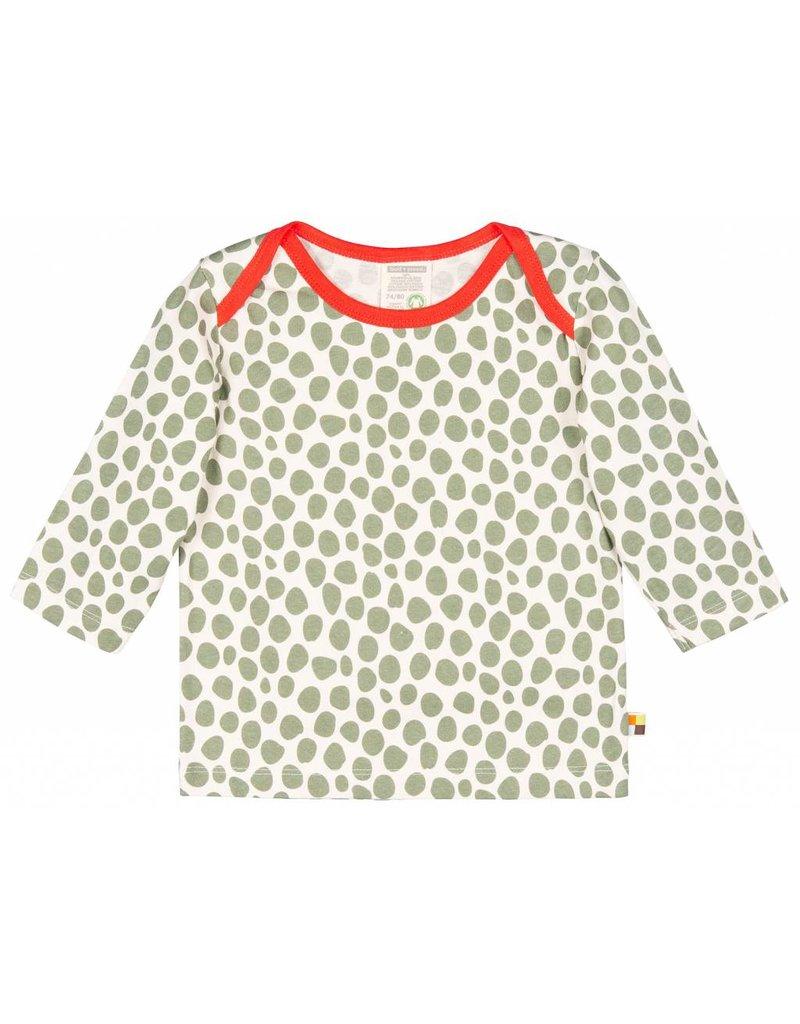 loud+proud Kids shirt - leopard spots