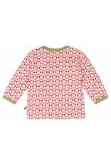 loud+proud Kids shirt - red monkeys