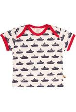 loud+proud Kids t-shirt - blue boats